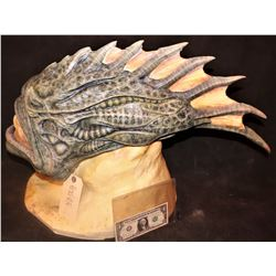 AQUAMAN TRENCHER CREATURE HEAD SKIN ON BUST 1 PRODUCTION #14