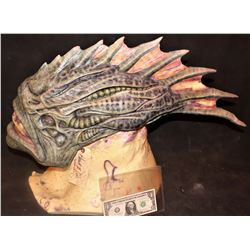 AQUAMAN TRENCHER CREATURE HEAD SKIN ON BUST 2 PRODUCTION #12