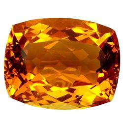43.3ct. Golden Orange Citrine Cushion