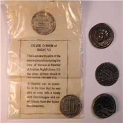 Coin reproductions: A Lot of 4