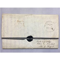 1833 Hand-written iron gall ink letter full of family news and gossip