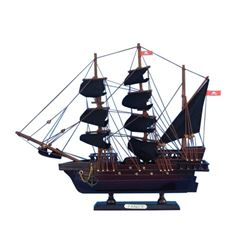 Wooden Henry Avery's The Fancy Model Pirate Ship 14""