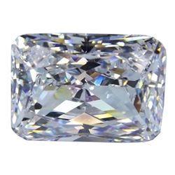 6 ct Octagon Bianco Diamond 6aaa Loose Stones 12x10mm