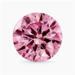 10.5ct Round Brilliant Pink BIANCO Diamond