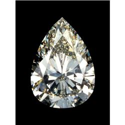 2 ct. Pear Cut BIANCO Diamond