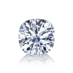 2.54 ct Cushion Bianco Diamond 6aaa Loose Stones