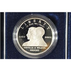 2003 US MINT FIRST FLIGHT CENTENNIAL PROOF SILVER