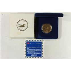 1987 CANADA SPECIAL PROOF EDITION LOON DOLLAR
