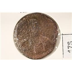 867-886 A.D. CROWNED BASIL I ANCIENT COIN
