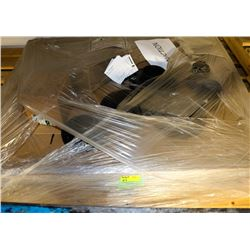PALLET OF ASSORTED FLANGES, FITTINGS & MORE
