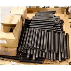PALLET OF ASSORTED THREADED ROD, WASHER, BOLTS &