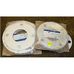 LOT OF ASSORTED NYLON GASKETS