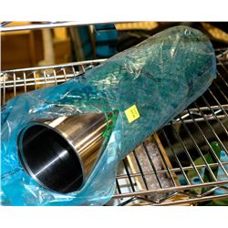 STAINLESS SLEEVE, 15-1/2 LONG X 4-3/4 O.D