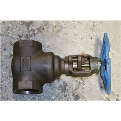 "VELAN 2"" GATE VALVE REG PORT 800 POUND"