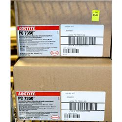 5 BOXES OF LOCTITE PC7350 CONVEYOR BELT REPAIR