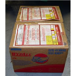 2 BOXES OF WYPALL X70 WIPERS, 152 COUNT PER BOX