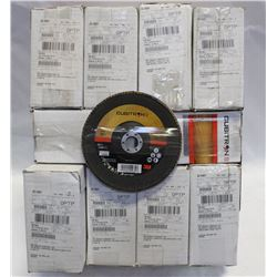 10 BOXES OF CUBITRON  TYPE 29 FLAP DISC, GRADE 60