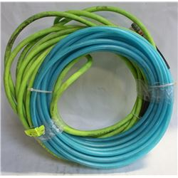 LOT OF TWO 25FT AIR HOSES