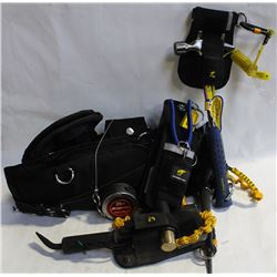 PYTHON SAFETY TOOL BELT WITH LANYARDS