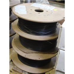 3 PARTIAL ROLLS OF ASSORTED COILED WELDING WIRE