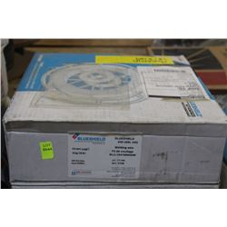 BOXED ROLL OF BLUESHIELD COILED WELDING WIRE