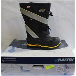 NEW HD BAFFIN WINTER INSULATED BOOTS-BLACK & HI-VZ