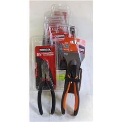 13 NEW BRICO ANGLE-CUTTERS & BAHCO ANGLE CUTTERS