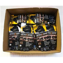 FLAT W/ 12 PAIRS ANSELL ACTIVARMR PLUMBERS GLOVES-