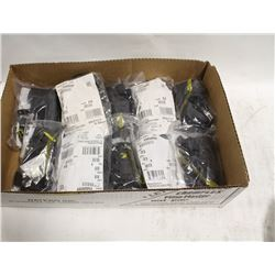 FLAT OF 10 RADIO/COMBO UTILITY HOLSTERS-FALL