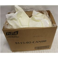 TWO SEALED ROLLS OF PURELL SANITIZING WIPES