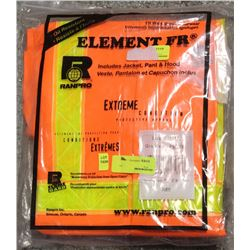 NEW RANPRO ELEMENT FR 3-PIECE FULL-BODY SUIT-SMALL