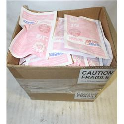 2 BOXES OF RAPID RELIEF WARM PACKS