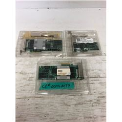 (3) Intel Adapter Circuit Boards *See Pics for Part Numbers*