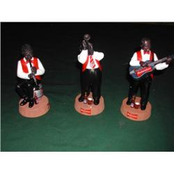 Anheuser - Busch, All That Jazz Figurines