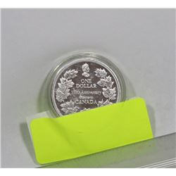 1911-2011 TRIBUTE TO CANADA $1 DOLLAR COIN