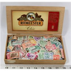 ESTATE BOX OF VINTAGE STAMPS