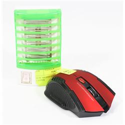 NEW WIRELESS OPTICAL MOUSE SOLD WITH BUGZAPPER