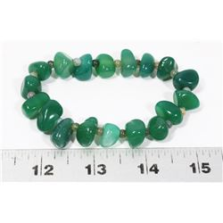 GENUINE GREEN JADE BRACELET