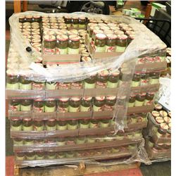 LARGE PALLET OF TAME SLICED JALAPENO PEPPERS PAST