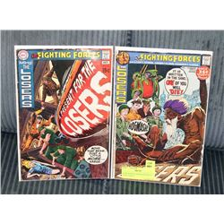 OUR FIGHTING FORCES #127 & #133 WAR COMICS