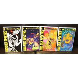 BEFORE WATCHMEN: SILK SPECTRE #1-4 COMICS