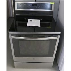GE PROFILE INDUCTION FLAT TOP CONVECTION RANGE