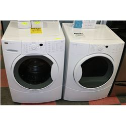 KENMORE ELITE WASHER & DRYER SET.