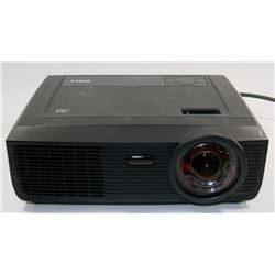 DELL DLP FRONT PROJECTOR WITH 0 HOURS ON LAMP