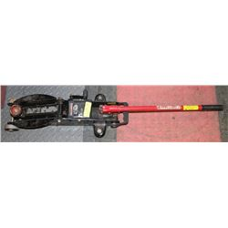 MOTOMASTER 2 1/2 TON CAR JACK WITH HANDLE