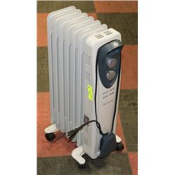 NOMA FLOOR STANDING ELECTRIC OIL HEATER