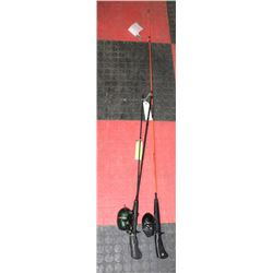 SHAKESPEARE FISHING ROD WITH ZEBCO FISHING ROD ,