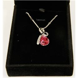 PINK  FASHION NECKLACE WITH