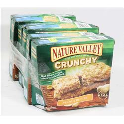6 BOXES OF NATURE VALLEY CRUNCHY PEANUT BUTTER