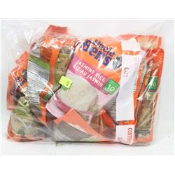 BAG OF ASSORTED UNCLE BENS RICE